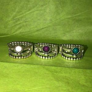 Three paparazzi rings